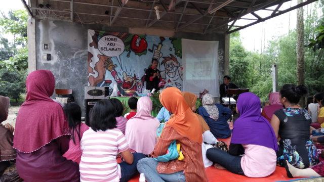 Bapak Raden Nana Kusdiana menyampaikan topik mengenai plating