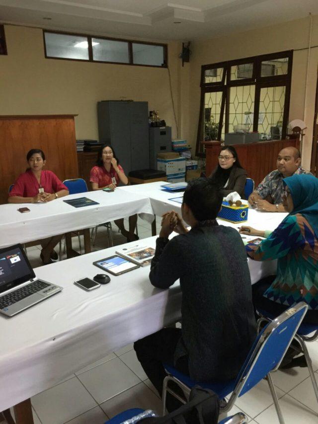 Diskusi dengan Tim PPM STP Nusa Dua Bali