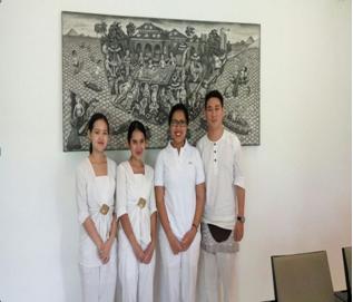 With HR-Ibu Yulia