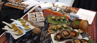 DIPLOMA AWARDS- MODERN SUSHI PLATTER COMPETITION LA CUISINE 2018